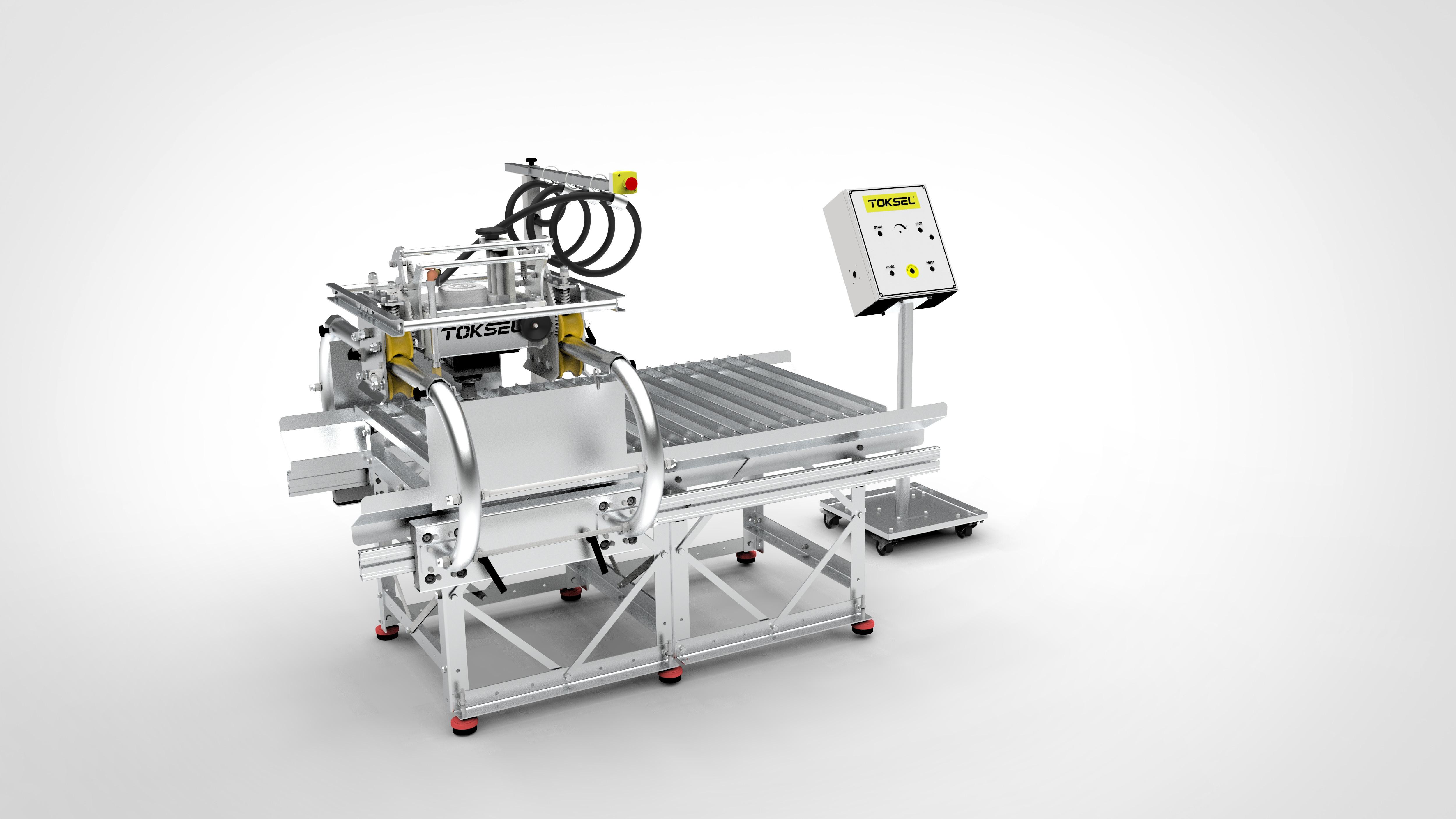 Atölye Tipi 4 Eksen İşleme Makinesi